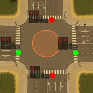 how to stop a manual car at a junction